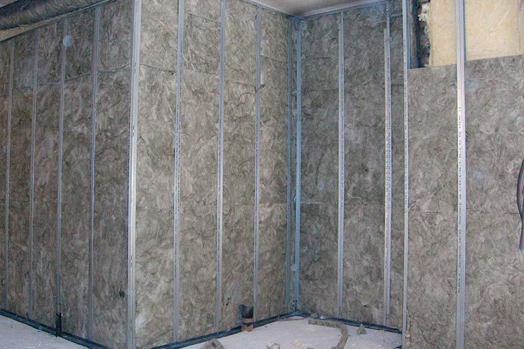 Instalaci n de aislamientos ac sticos e insonorizaciones - Aislamiento de paredes ...